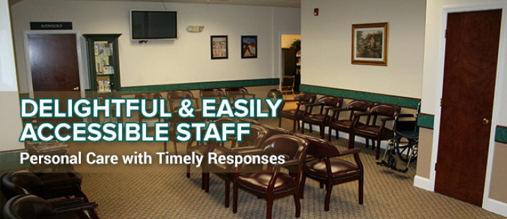 Delightful & Easily Accessible Staff