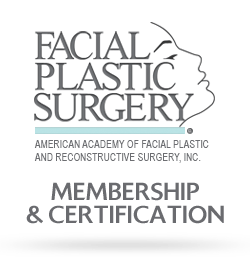 Get Membership & Certification for Facial Plastic Sugery