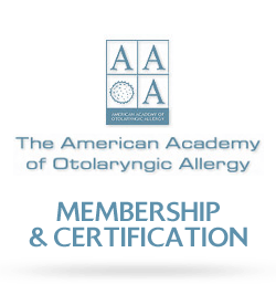 The American Academy of Otolaryngic Allergy