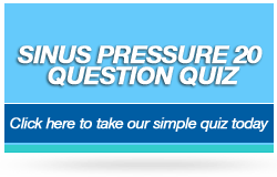 Sinus Pressure 20 Question Quiz