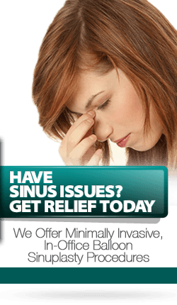 Have Sinus Issues - Get Relief Today